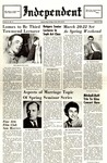 The Independent, Vol. 4, No. 14, March 4, 1964