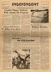 The Independent, Vol. 9, No. 9, November 14, 1968