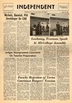 The Independent, Vol. 9, No. 22, March 13, 1969 by Newark State College
