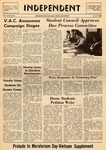 The Independent, Vol. 10, No. 5, October 9, 1969 by Newark State College
