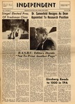 The Independent, Vol. 10, No. 8, October 30, 1969 by Newark State College