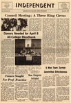 The Independent, Vol. 11, No. 52, March 25, 1971