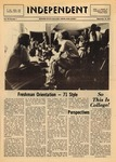 The Independent, Vol. 12, No. 1, September 10, 1971