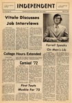 The Independent, Vol. 12, No. 18, March 2, 1972