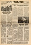 The Independent, Vol. 14, No. 8, November 1, 1973