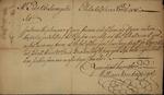 William Vanderspiegle to Peter Van Brugh Livingston, November 25, 1756 by William Vanderspiegel