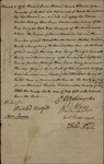 Livingston and All Received form Executors of Robert Hunter Morris, July 26, 1768