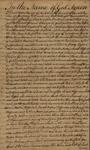Last Will and Testament of David Ogden, November 12, 1776