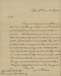 Robert Morris to George Abbot Hall, May 16, 1783