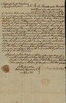 Declaration of Margaret Rutledge's Ownership of Cromwell, Mingo, Beck, Vigo, and Billey, August 20, 1785