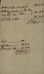 Receipt, November 17, 1789