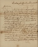 William Moultrie to South Carolina Delegates, December 19, 1785