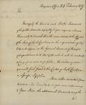 Joseph Nourse to John Kean, February 24, 1787