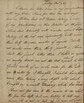 John Kean to Susan Kean, December 9, 1787