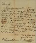 Samuel Wilcox to John Kean, August 13, 1788