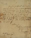Samuel Wilcox to John Kean, Ocotber 1, 1788