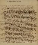Beaumanoir de la Forest to Susan Kean, December 7, 1788
