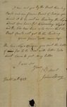John Stoney to John Kean, December 13, 1788