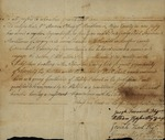 Aaron Pitney Apprenticship Certification. May 18, 1789