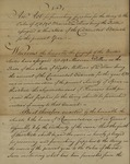 Senate Act Signed by John Lewis Gervais, February 26, 1782