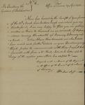 William Duer to John Matthews, April 29, 1782