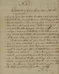 Nathaniel Greene to Unknown and Robert Morris to Nathaniel Greene, September 11, 1782
