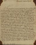 Lewis William Otto to Susan Livingston, October 16, 1783