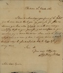 Stephen Drayton to John Kean, October 20, 1783