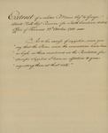 Robert Morris to George Abbott Hall, October 22, 1783