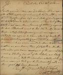 Robert Smith to John Kean, October 25, 1783