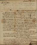 Shubrick & Clempson to John Kean, November 8, 1783