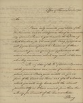 Robert Morris to George Abbott Hall, December 12, 1783