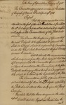 Report of the Committee Appointed to Consider the Resolutions of Congress, February 11, 1785