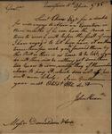 John Kean to Donaldson & Coxe, April 10, 1785 by John Kean