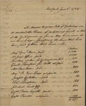 Commissioner of Treasury to Unknown, June 3, 1785