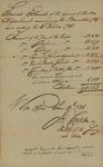 War Office General Estimate signed by Joseph Carleton, June 10, 1785
