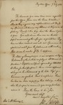 Joseph Nourse to John Kean, July 7, 1785