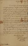 John Pierce to John Kean, August 8, 1785