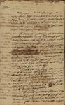 John Faucheraud Grimke to John Kean, September 5, 1785