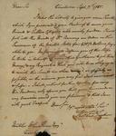 Thomas T. Tucker to John Kean, September 7, 1785