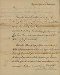 Joseph Nourse to John Kean, October 4, 1785