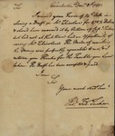 Thomas Tucker to John Kean, December 8, 1785