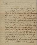Johnathan Burrall to John Kean, March 6, 1786