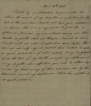 Excerpt from Peter Van Brugh Livingston to John Kean, April 25, 1786