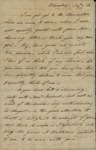 John Kean to Susan Livingston, August 9, 1786