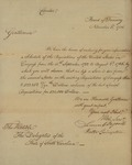 Board of Treasury to South Carolina Delegates, November 3, 1786