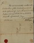 Daniel Huger to John Kean, November 10, 1786