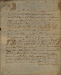 John Baylor to Unknown Person, March 6, 1787