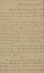 John Kean to Susan Kean, November 20, 1787