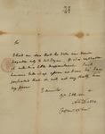Alexander McQueen to John Kean, December 27, 1787